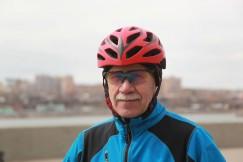 Сергей Просвирин сел на велосипед после 30-летнего перерыва.