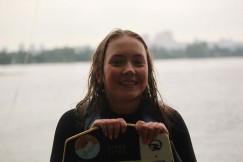 Мария, самая юная участница среди девушек, заняла первое место.