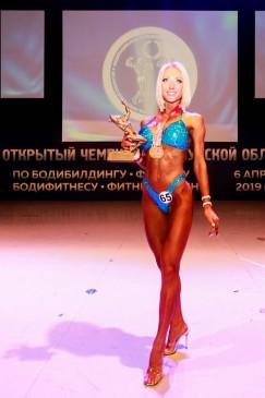 Татьяна Нефедова из Братска готовилась всего четыре месяца и победила в своей номинации.