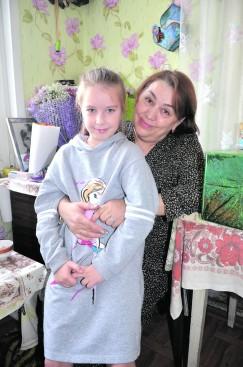 Внучка Любовь и прапраправнучка Соня